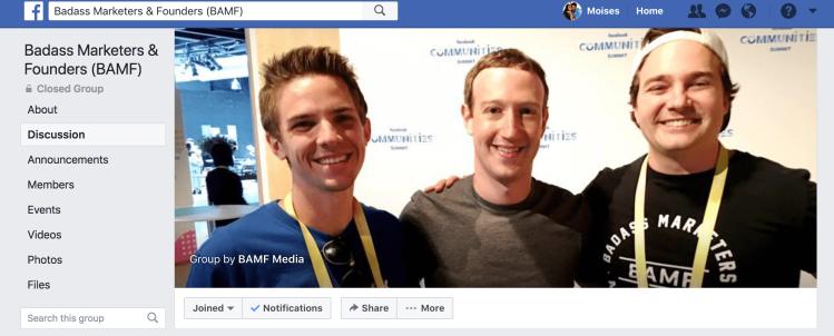 Facebook Groups Moises Hamui